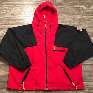 Vintage Marlboro Windbreaker Jacket Full Zip XL